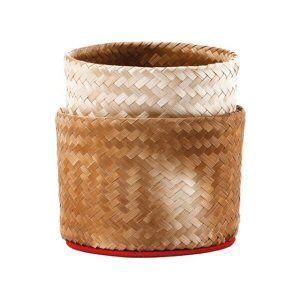 rotin en bambou pour riz gluant 15cm