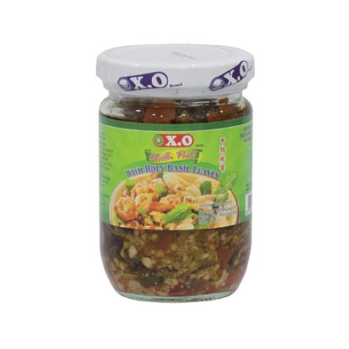 pate de piment feuille de basilic x.o. 200g
