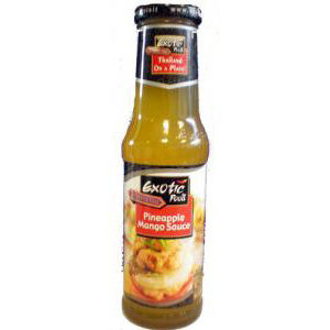 sauce mangue ananas 250ml exo fo