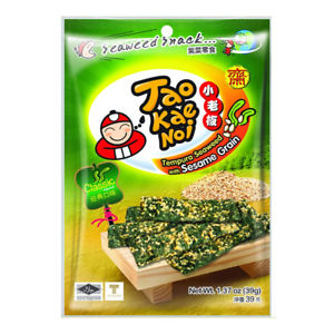 algue nori en tempura avec graine de sésame 39gr taokaenoi