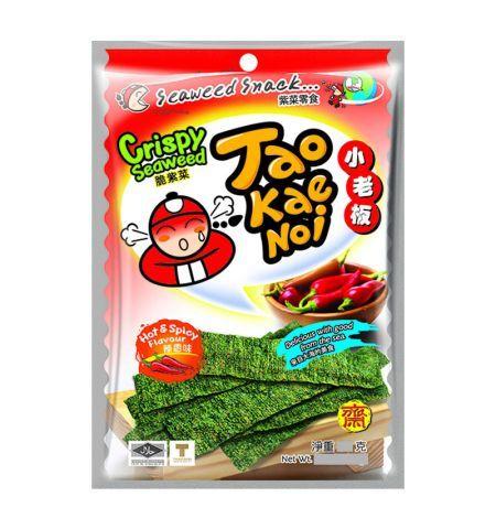 nori croustillants pimentés taokaenoi 32 g