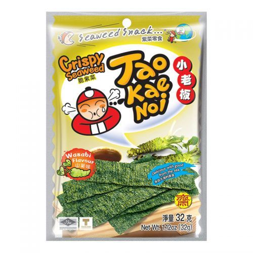 nori croustillant au wasabi taokaenoi 32 g