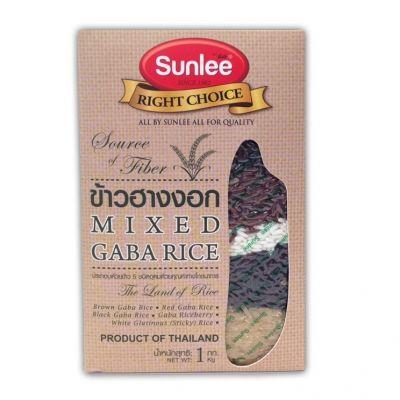 riz  long grain santé 5 couleurs sunlee 1 kg