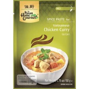 pate curry de poulet viet ahg 50g