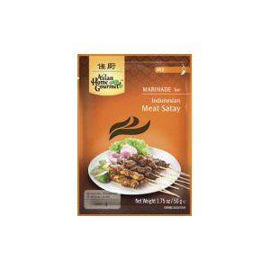 marinade brochette satay 50gr ahg