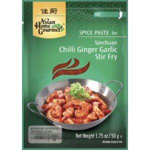 sauce gingembre piment sichuan ahg 50gr