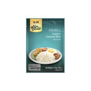 preparation riz coco nasi lemak ahg 50g