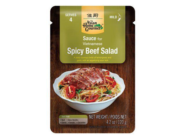 sauce pour salade vietnamienne au boeug 120g