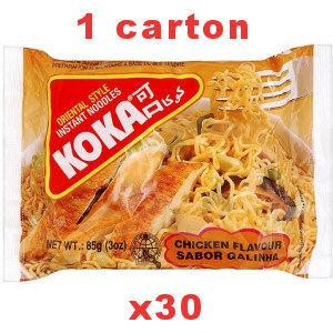 carton soupes koka poulet 30x85g