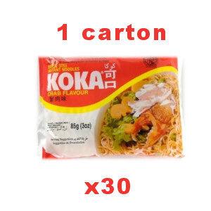 carton soupes koka crabe 30x85g