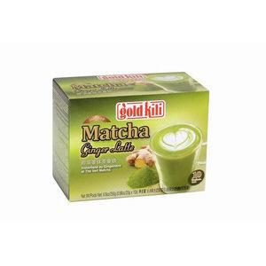 instant matcha ginger latte gold kili