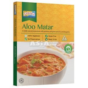 curry aloo matar pommes de terre avec  pois verts 280g
