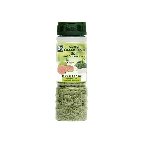 mélange d'épices sel et piment vert 120gr dh foods