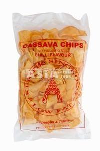 chips de manioc pimentees 250g