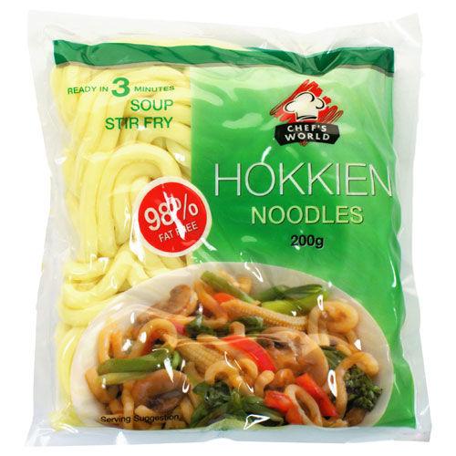 nouille chinoise d'hokkien 200 gr