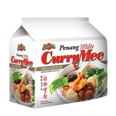 nouilles ibumie penang blanche currymee 4x105g