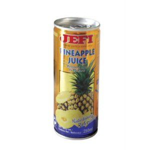 jus d'ananas avec pulpe 240ml