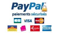 Paiement sécurisé avec le système Paypal